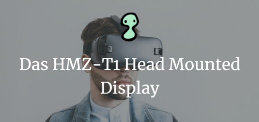Das HMZ-T1 Head Mounted Display