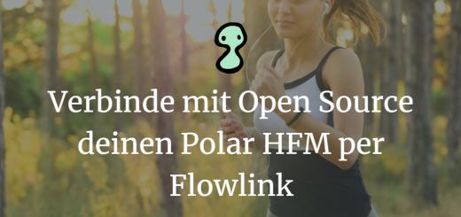 Verbinde mit Open Source deinen Polar HFM per Flowlink