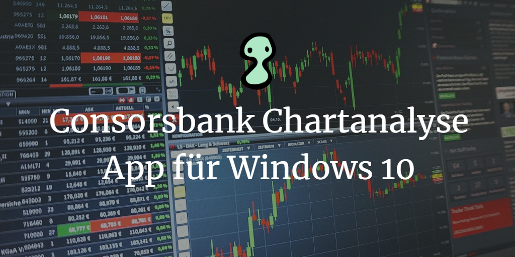 Consorsbank Chartanalyse App für Windows 10